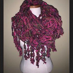 Vibrant colors! Steve Madden infinity scarf